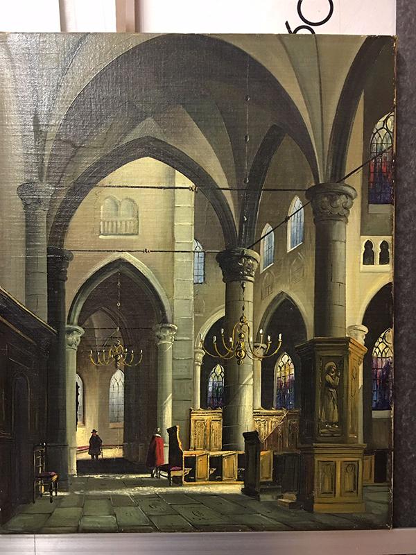 De Restauratie van een kerk